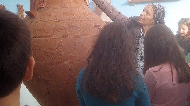 Επίσκεψη στο Αρχαιολογικό Μουσείο Τήνου