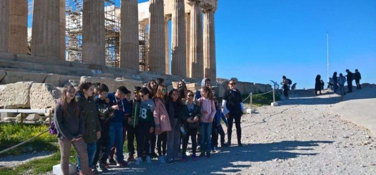 Εκπαιδευτική εκδρομή της ΣΤ' τάξης στην Αθήνα!