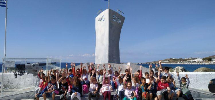 Λίγο πριν την 28η Οκτωβρίου επισκεπτόμαστε τα μνημεία μας!